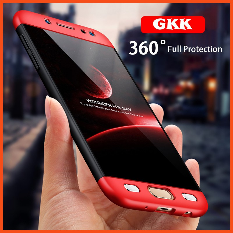 GKK A8 Cover 360 Full Protection Case Samsung A8 plus 2018 | Shopee Philippines