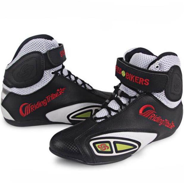 24952e8e1cf Motorcycle Shoes Boots Waterproof Motocross Athletic Sneaker