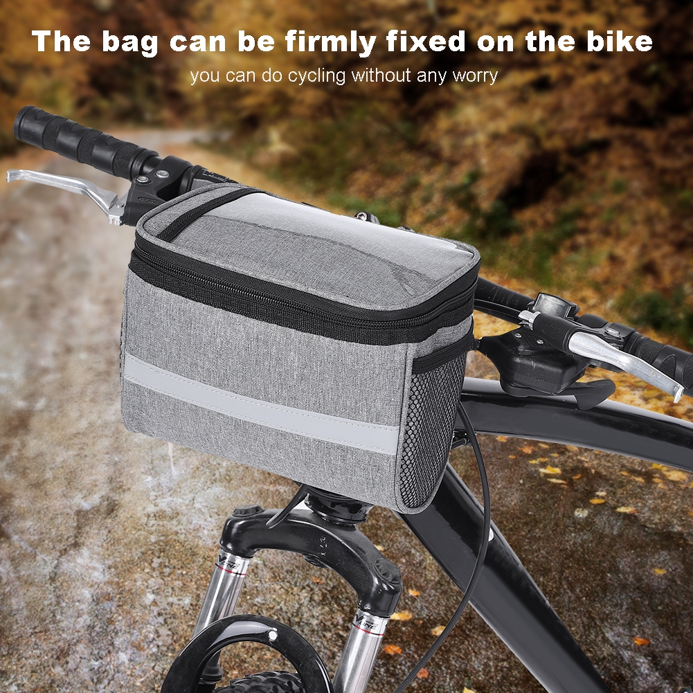 Stock Bicycle Front Handlebar Bag Phone Pouch Cycling Shopee Philippines
