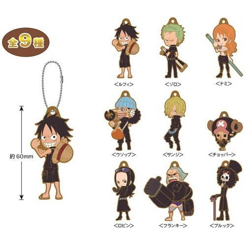One Piece Film Gold Sanji Mascot Key Chain Collectables Other Japanese Anime