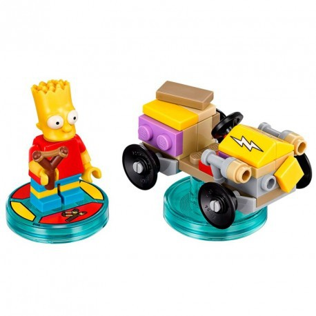 Lego Dimensions The Simpsons Homer and Bart Level Pack 71202 71211