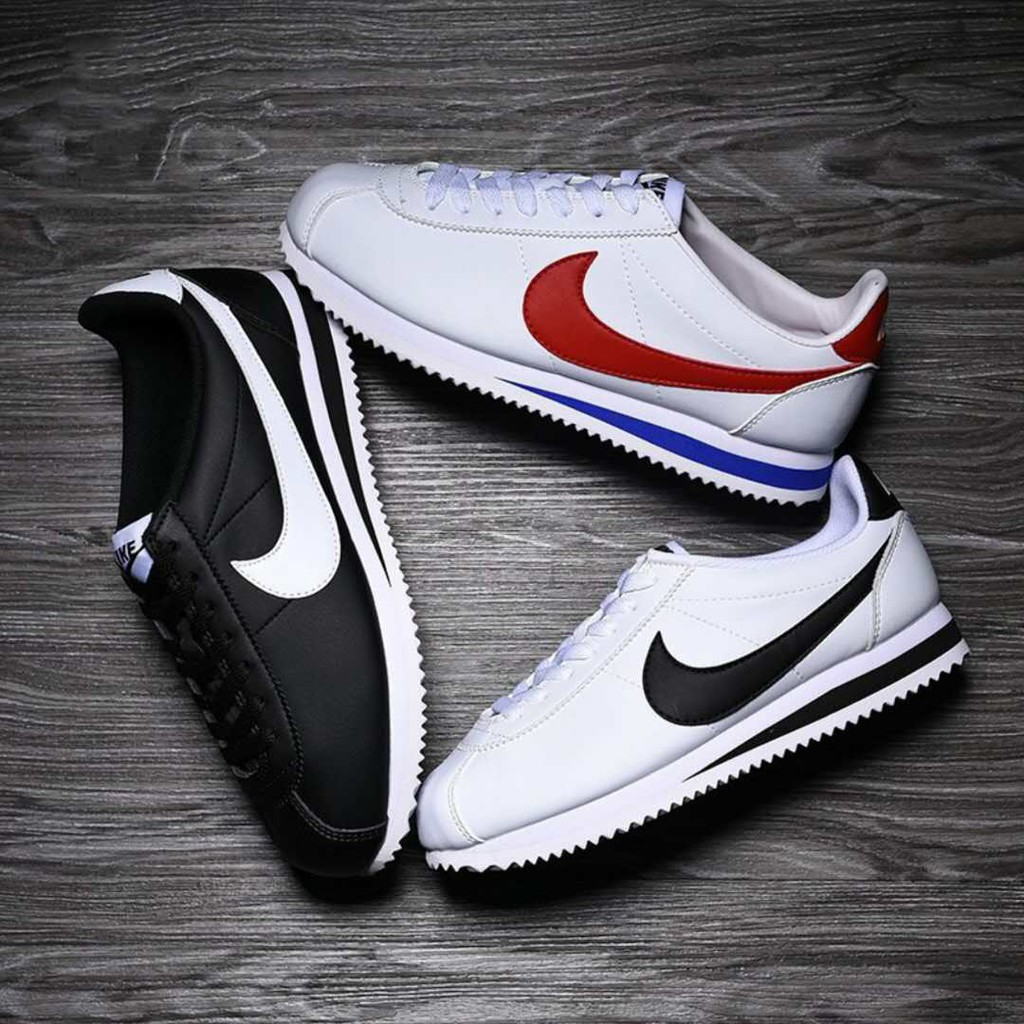Vislumbrar equilibrar Pinchazo  junjin111 Nike Cortez Leather Men's and women's sports breathable running  shoes Fashion | Shopee Philippines
