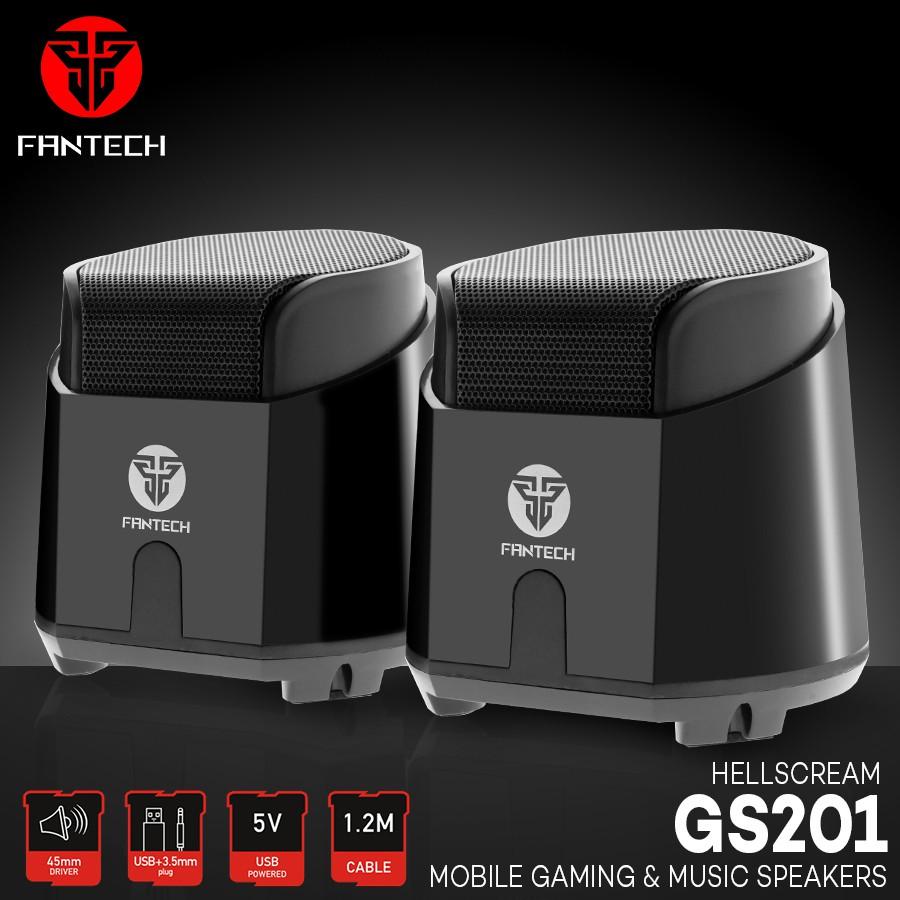 FANTECH GS201 HELLSCREAM COMPUTER SPEAKER ...
