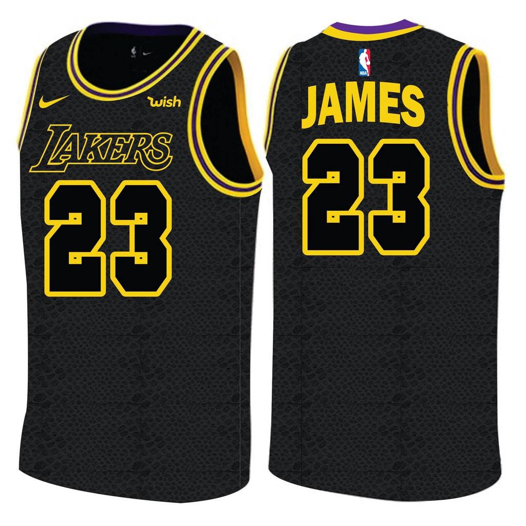 LeBron James LA Lakers Swingman Jersey  17b42d629