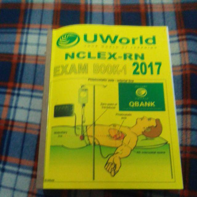 Uworld book 1, book 2 | Shopee Philippines