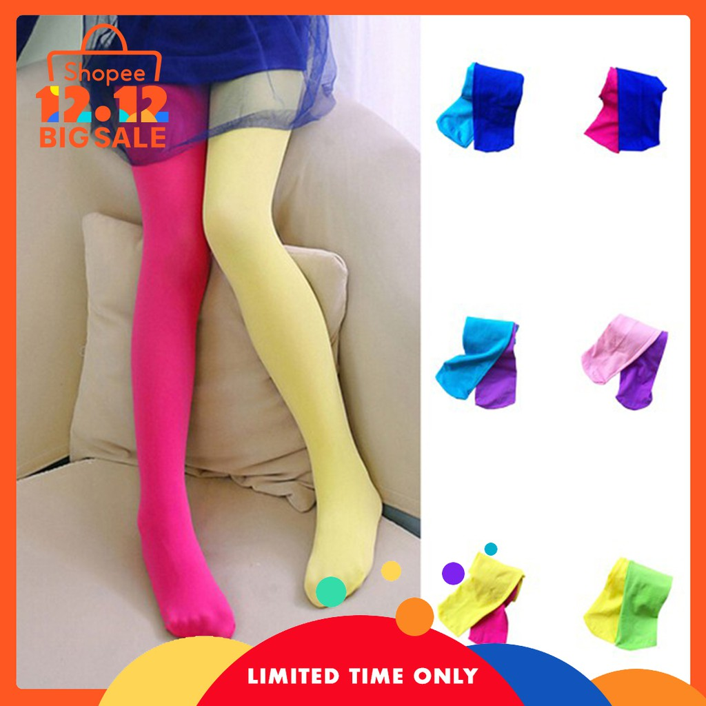902c77a424f Girl Stylish Candy Color Pantyhose Dance Tights