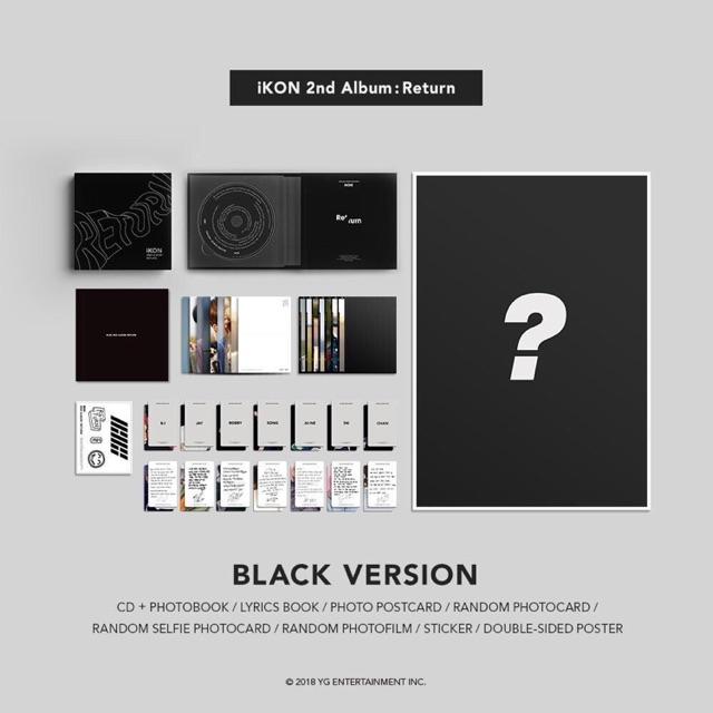 iKON 2nd Album: Return Album
