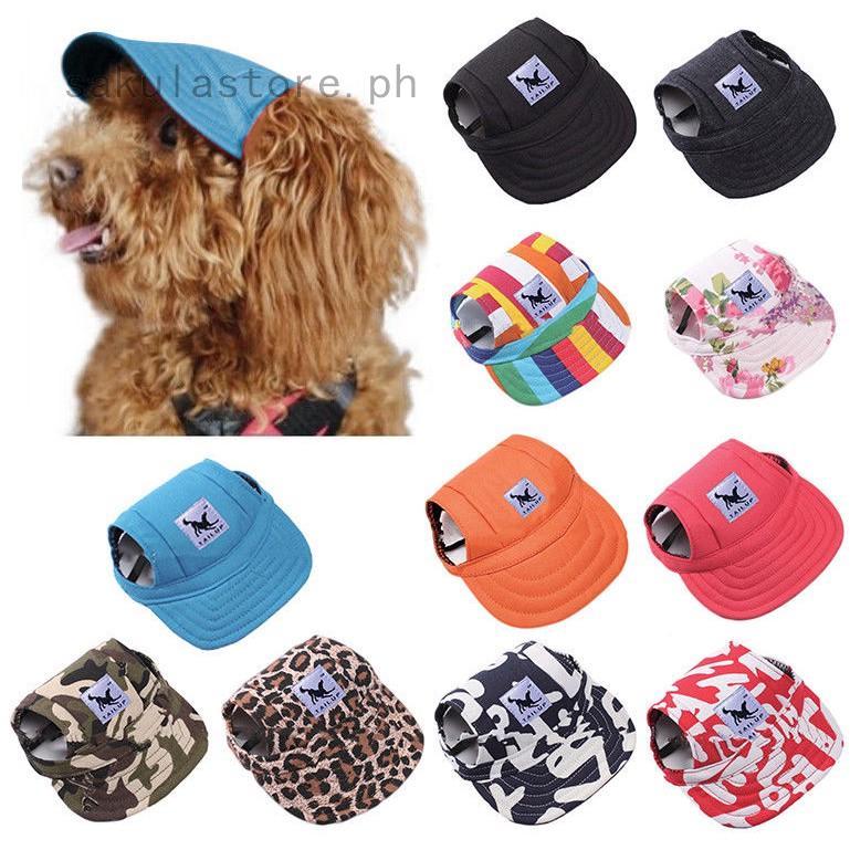 ♫❤♫Pet Dog's Hat Baseball Cap Windproof Travel Sports Sun Hats for Pupp