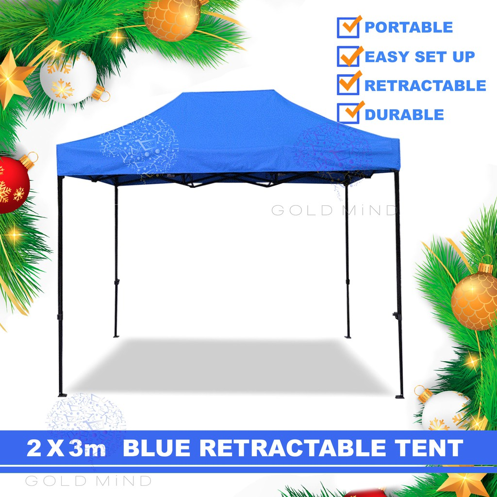 2x3 Meter Canopy Tent Gazebo Tent Retractable Tent Shopee Philippines