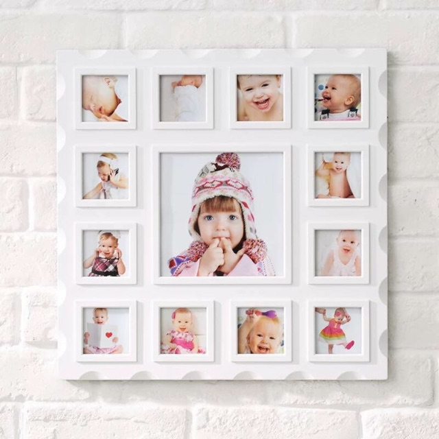 Cod 12 Months Picture Framefree Calendar Shopee Philippines