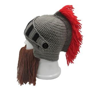 ffcfb2356 Roman Knight Helmet Cosplay Knit Beanie Hat Wind Mask | Shopee ...