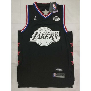 best website 44ab4 925c8 NBA ALL STAR Lakers 23 Lebron James Swingman Jersey | Shopee ...