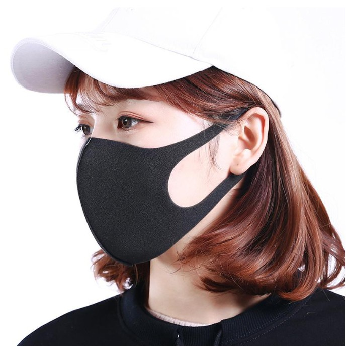 Mask Face Cotton Sponge Warm Respirator Anti-dust Unisex Mouth Wearing