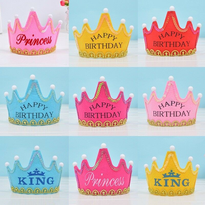 Super Kids Birthday Hat Carnival Birthday Cake Party Decor Crown Personalised Birthday Cards Paralily Jamesorg