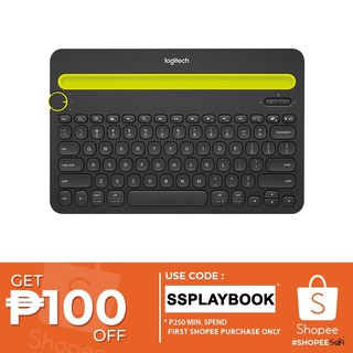 Logitech K380 Multi-Device Bluetooth Keyboard | Shopee