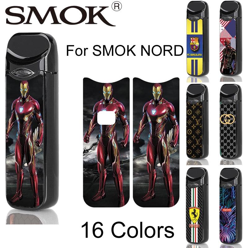 SMOK NORD 3D Printing Skin Sticker Spiderman Venom Cover
