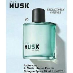 Avon Musk Eau De Cologne Spray 75 Ml Perfume Shopee Philippines