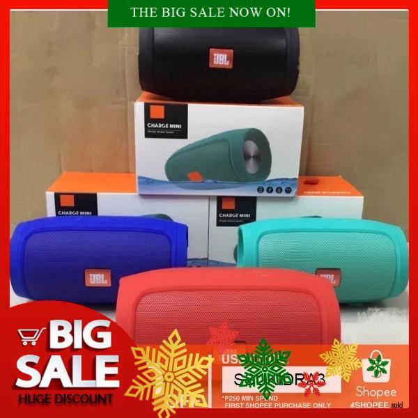 JBL Charge 4 / E3 Mini Bluetooth Speaker | Shopee Philippines