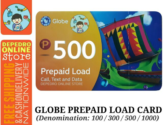 Globe Prepaid Load Card | Shopee Philippines