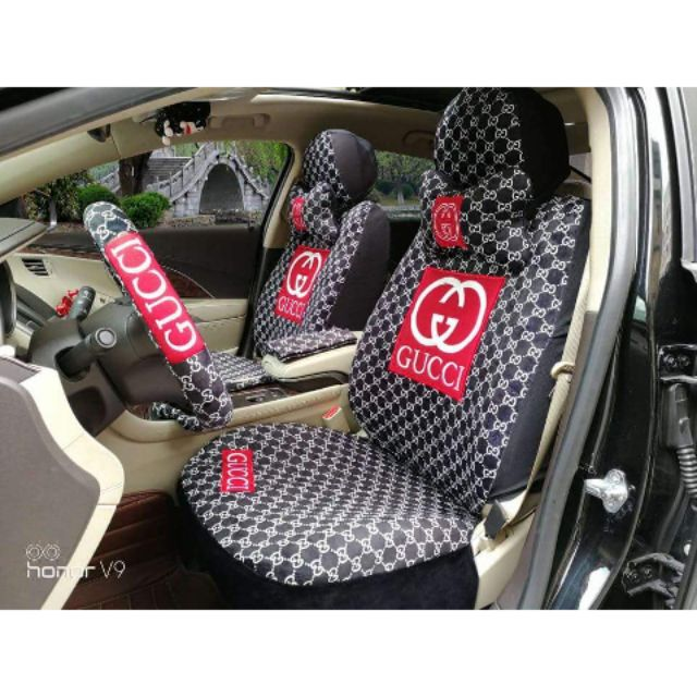 Chanel Lv Gucci 18in1 Seatcover Car Seat Cover