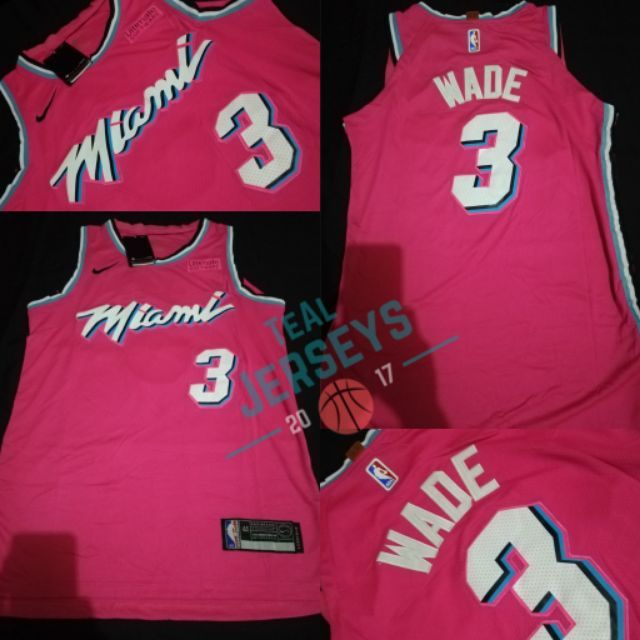 check out cd2b0 02733 Dwyane Wade Miami Heat Swingman Jersey #cod