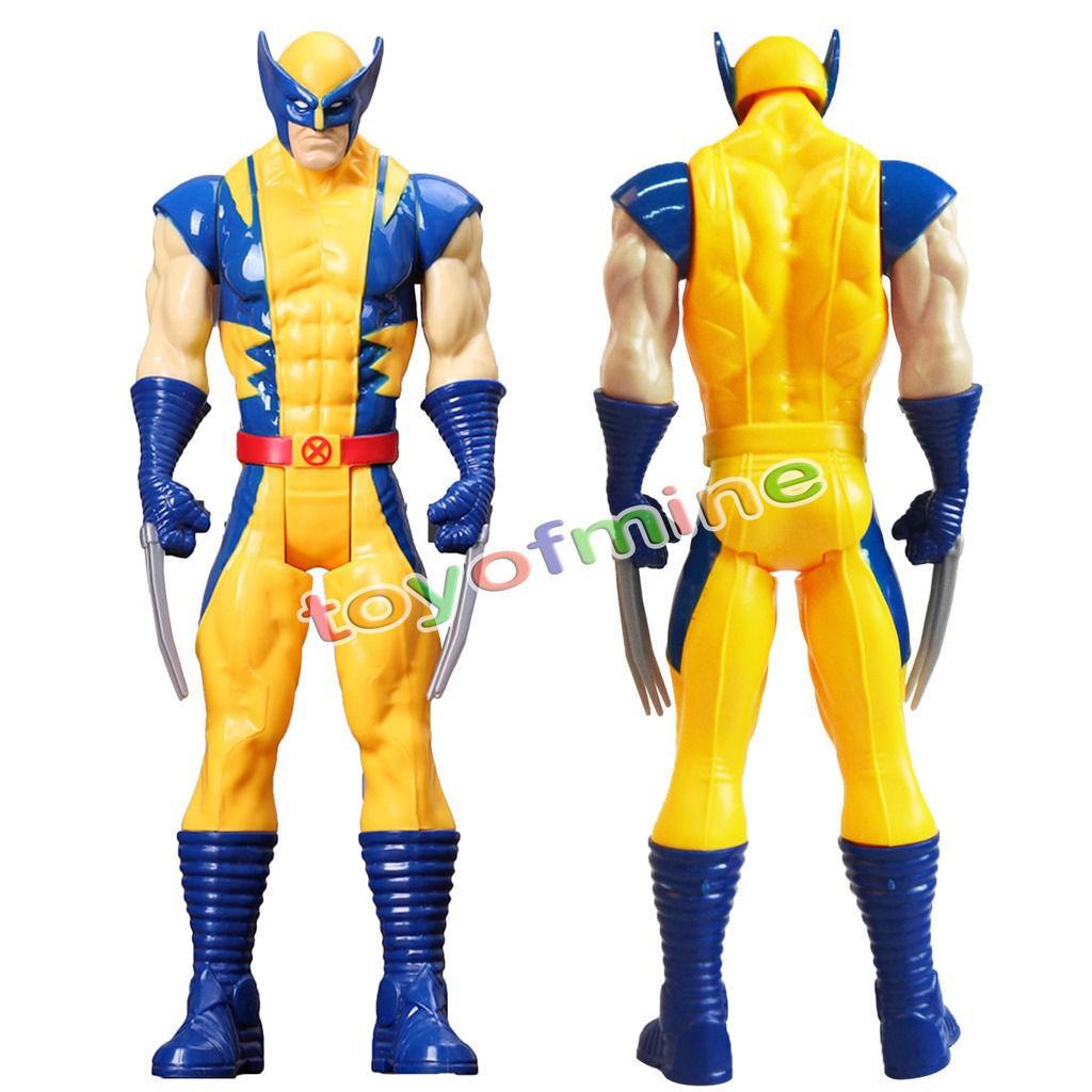 "Wolverine X-Men Action FIGURE Toy The AVENGERS Marvel Titan Hero Series 12/"" Gift"