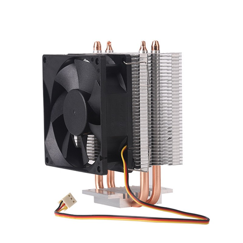 CPU Air Cooler,Mute Air Cooling Fan Radiator Heat Dissipation CPU Cooler for 1150//1155//115