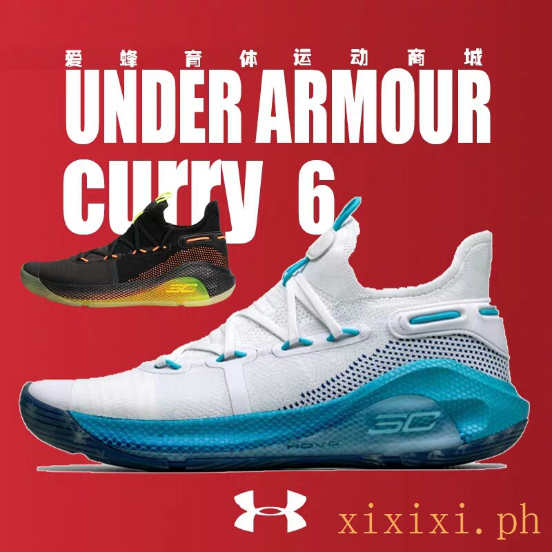 new style 7c763 34542 Original Under Armour Curry 6 Men Basketball Shoes 3020612