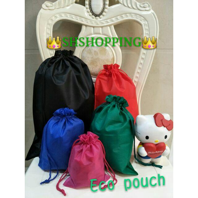 dd3642ac28d Canvas katsa pouch stringbag plain | Shopee Philippines