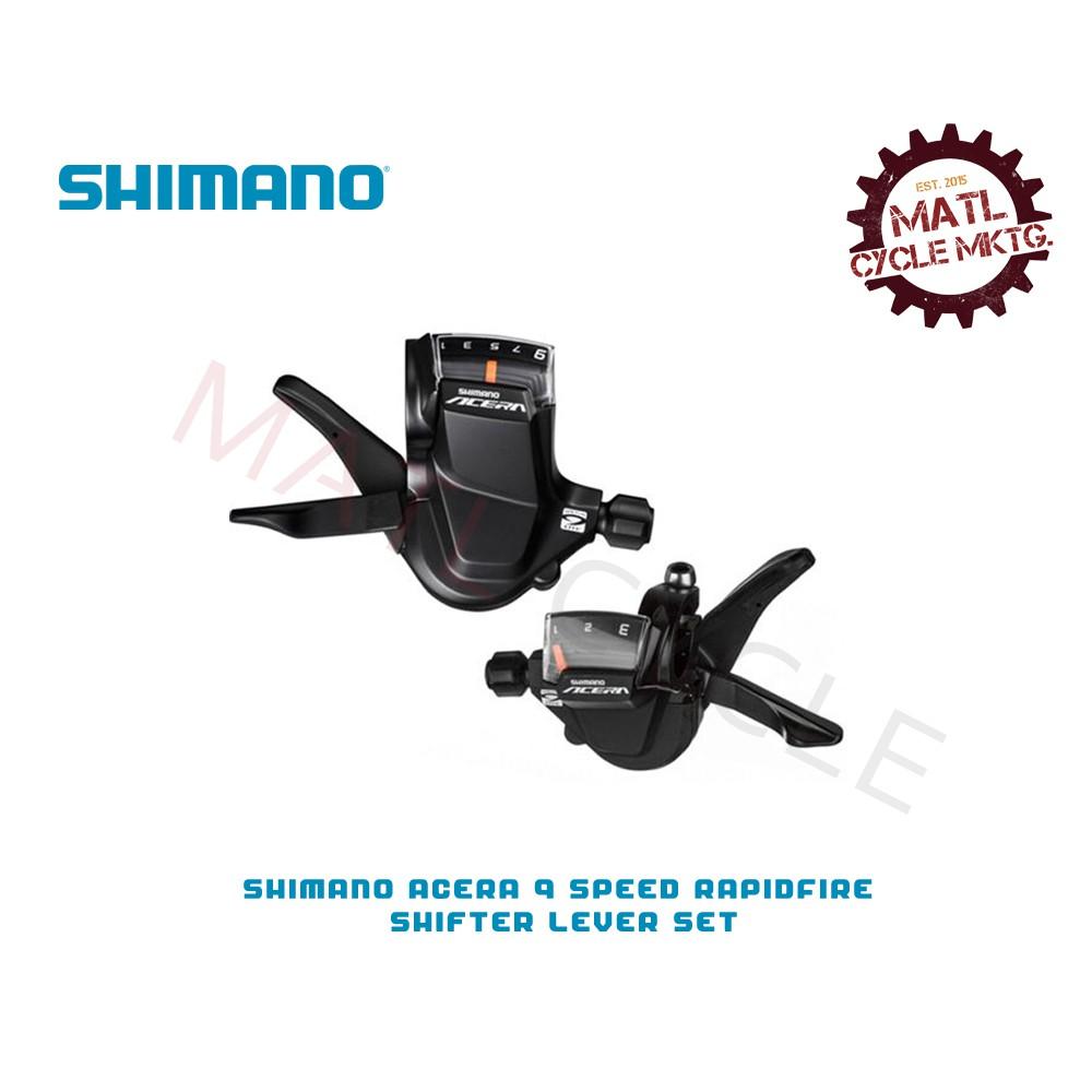 Mountain Bike SHIMANO Acera 9 Speed Rapidfire Shifter Lever