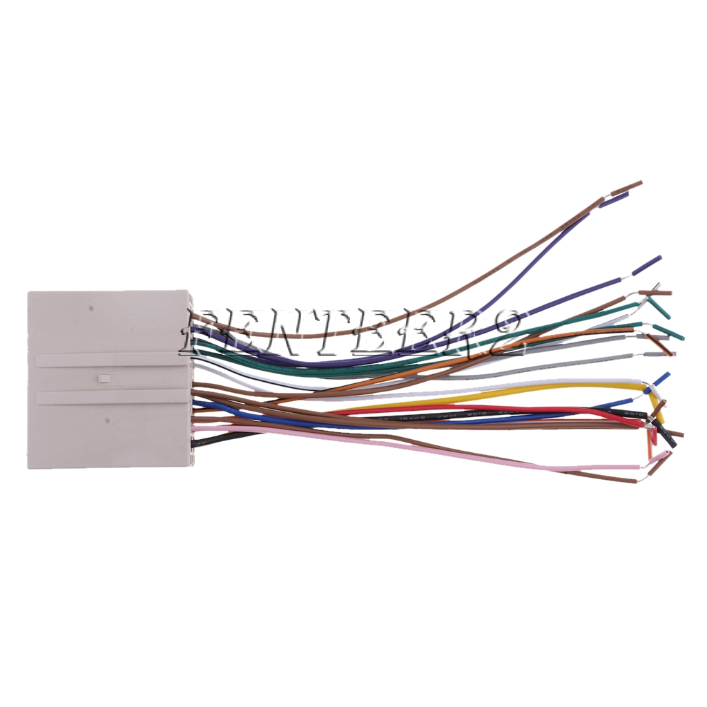 Premium Car Stereo Radio Wiring Harness Wires Kits for Ford
