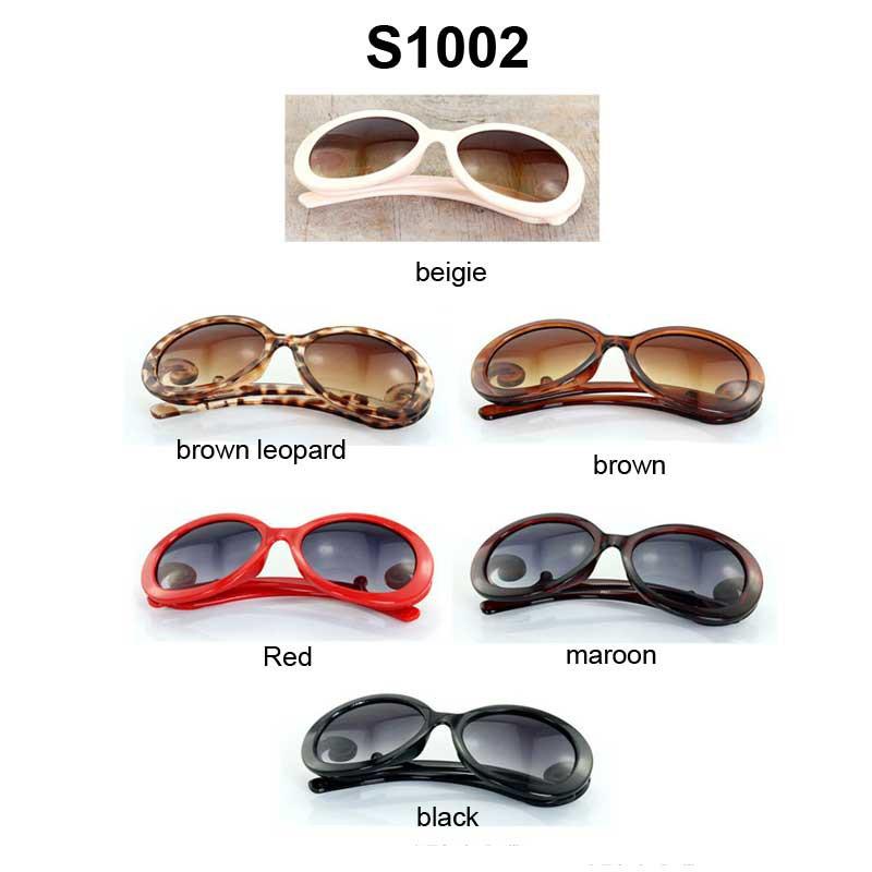 f2cfe6ce7a8 NYA9726 Curve Round Gold Frame Aviator Sunglasses - Orange