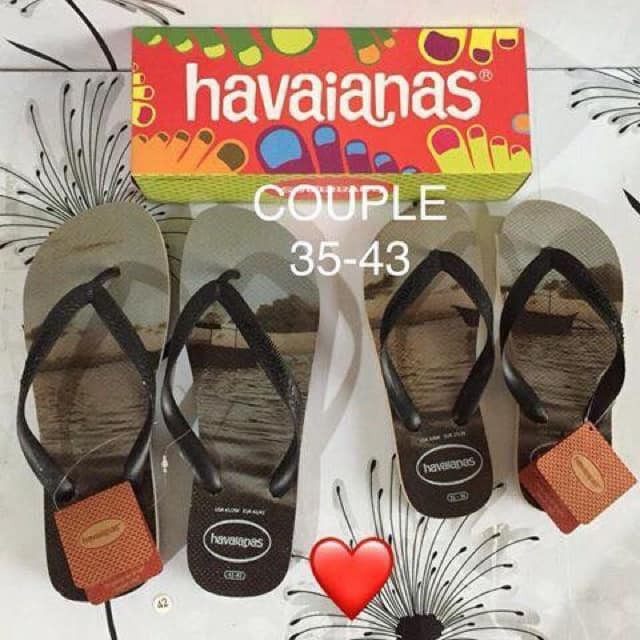 ec99e4cd83d Havaianas Couple Slippers for Him and for Her