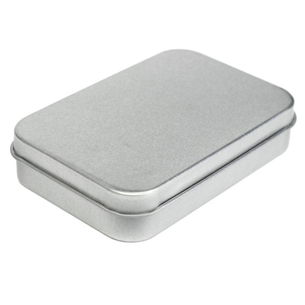 Multipurpose Small Metal Storage Box Jewelry Coin Candy Keys Tin Empty Case