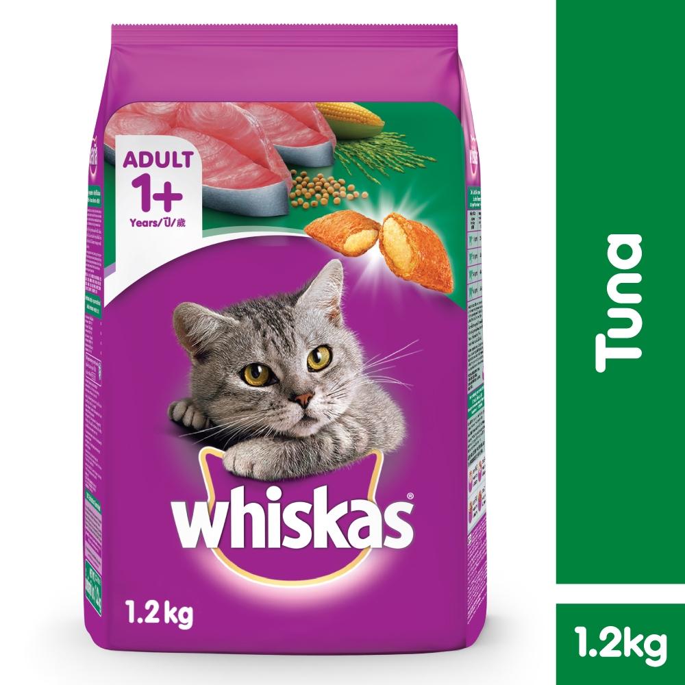 Whiskas Mackerel Flavoured Cat Food 480g