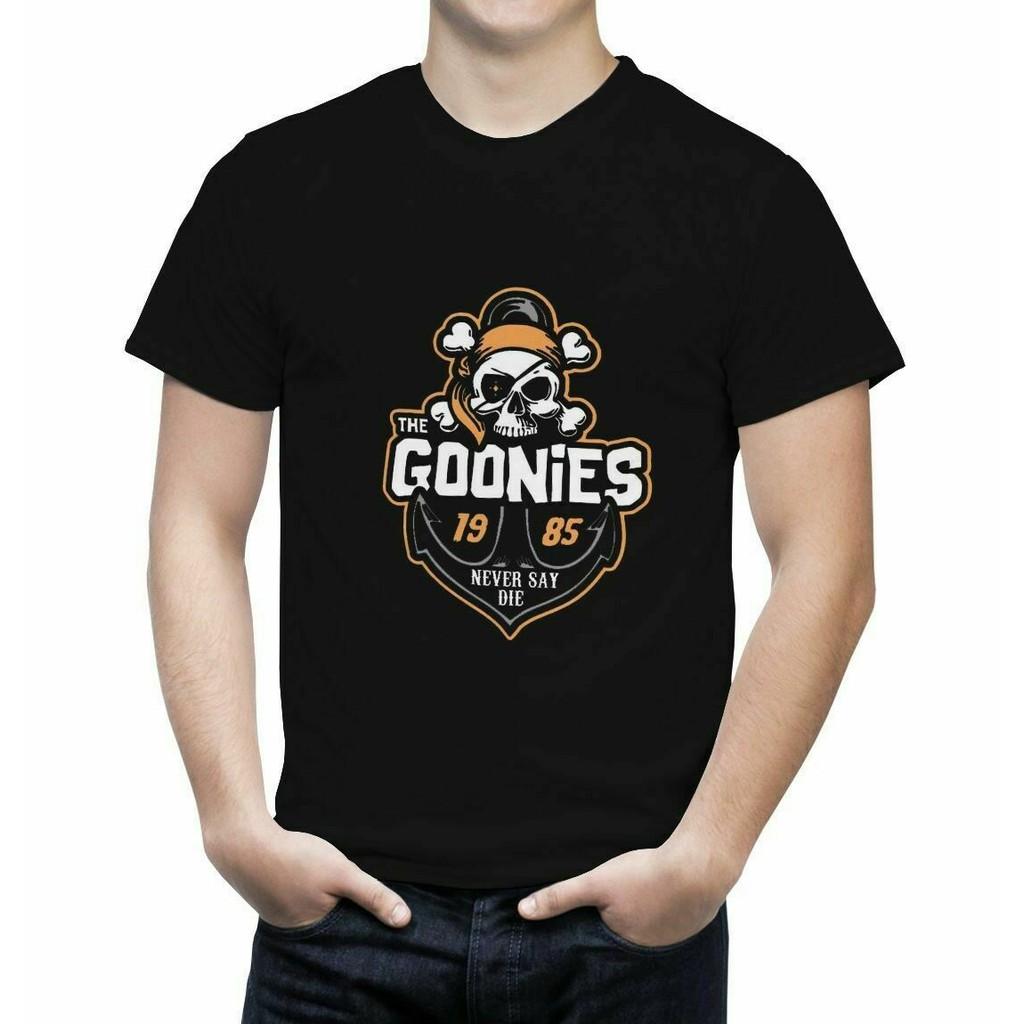Goonies Never Say Die Classic Fashion Mens Long Sleeve Round Neck Sweatshirt Shirt