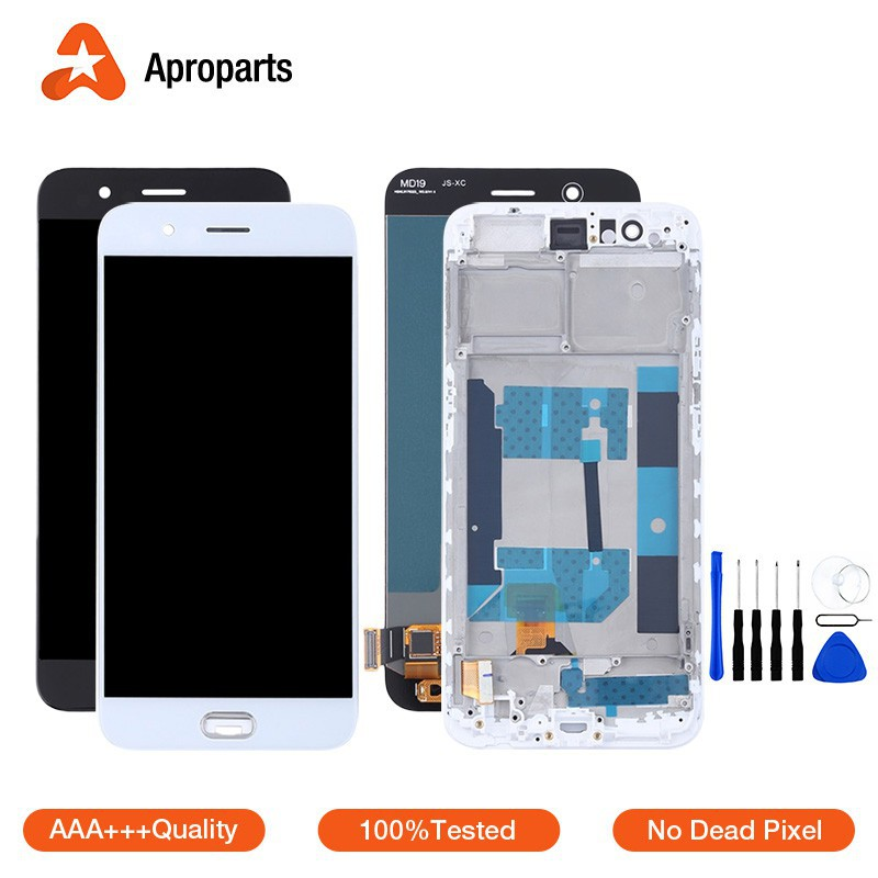 100%Tested For OPPO R11 LCD Display Touch Screen Assembly