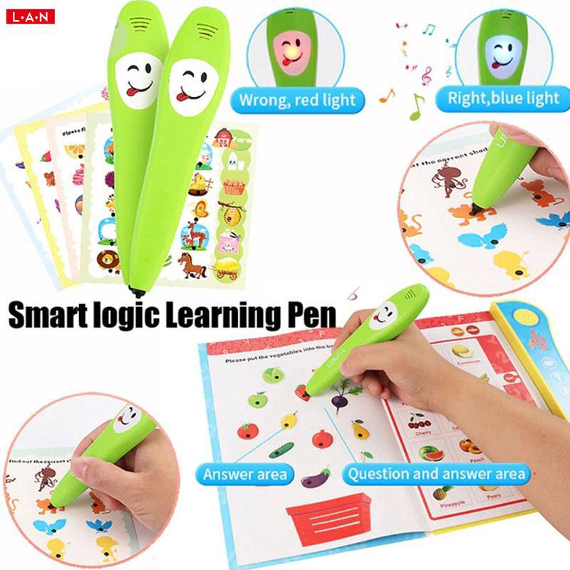 Talking english books with talking pen with tutorials | Shopee