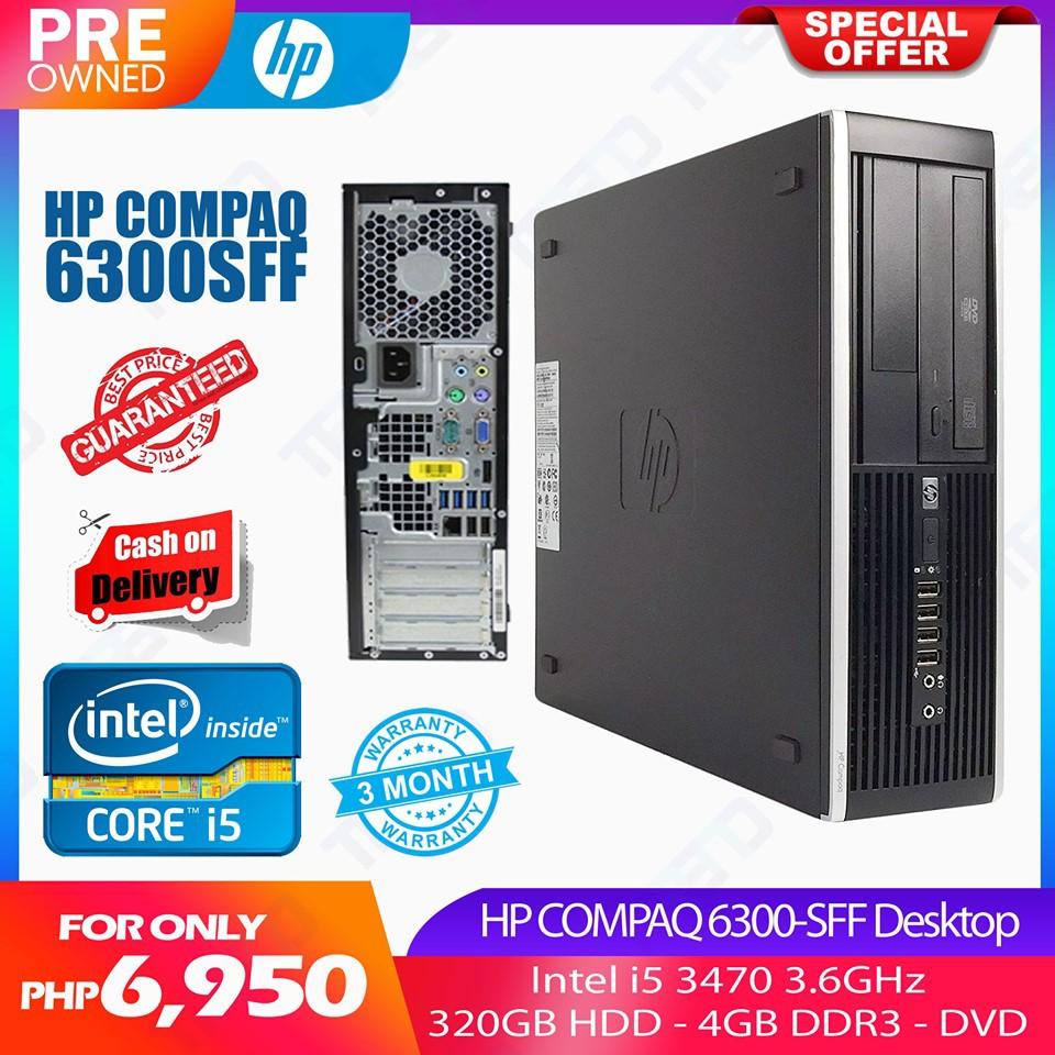 HP Compaq 6300SFF Core i5 Desktop PC