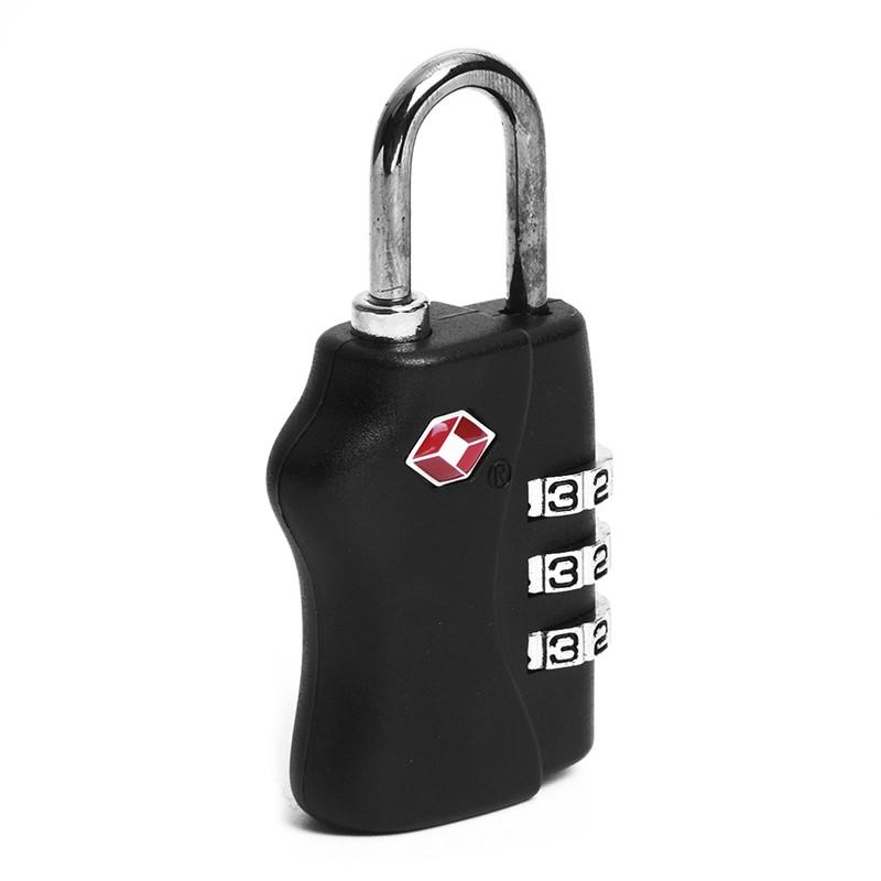 4f0602570f96 TSA 3 Digit Combination Travel Suitcase Luggage Padlock Lock