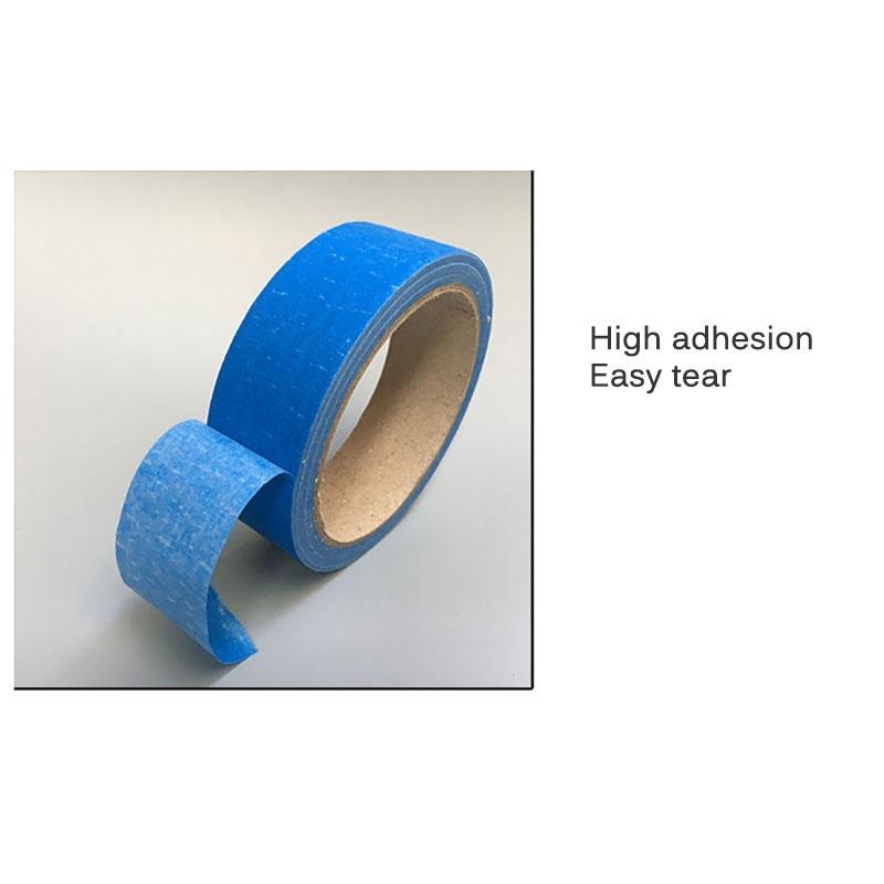 Vertical Shinzi Katoh washi tape  masking tape blue stripey
