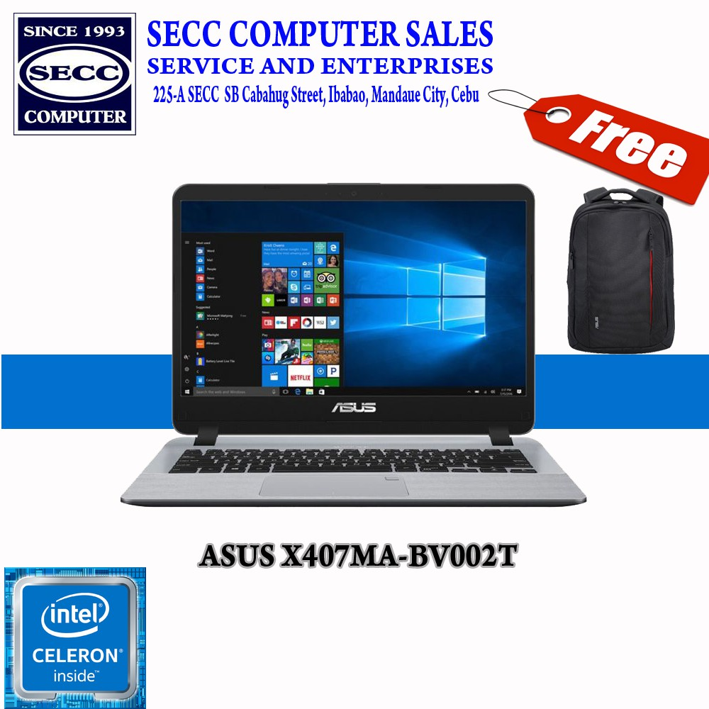 ASUS X407MA-BV002T 14
