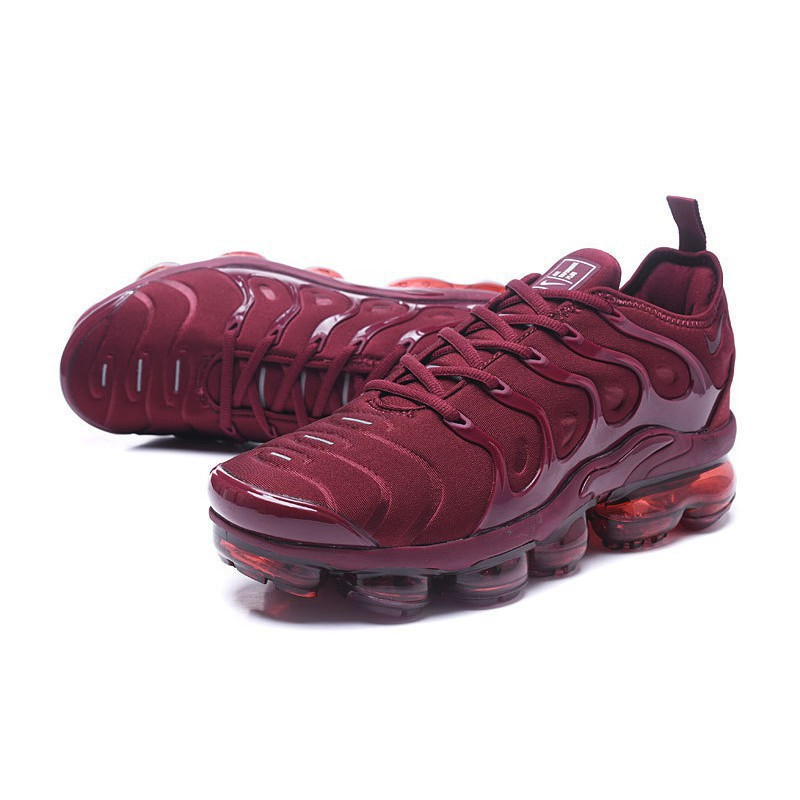 buy good fresh styles the sale of shoes Nike Air Vapormax Plus 2018 TN New Colors dark red 40-45 | Shopee ...