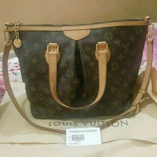 Authentic Louis Vuitton Palermo pm  e0ea0d58f9393