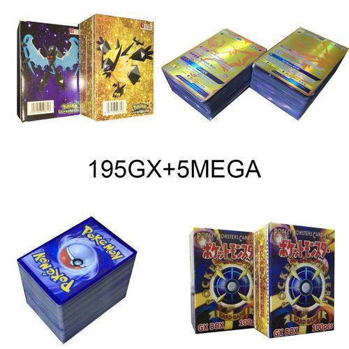 HONI 200 Latest POKEMON GX Cards English Flash Cards