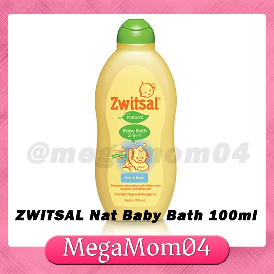 Zwitsal 200ml Natural 2n1 Baby Bath hair and Body shampoo | Shopee Philippines