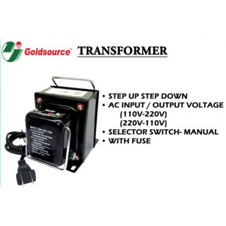 Newstar Step Down Transformer NVT-W1500/E 220VAC 1500W | Shopee