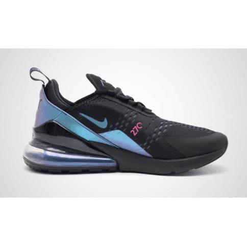 [zhuass]NIKE AIR MAX 270 metal chameleon air cushion men's shoes AH8050 020 black purple