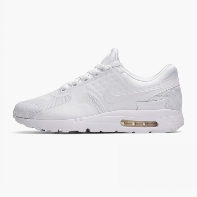 air max zero all white