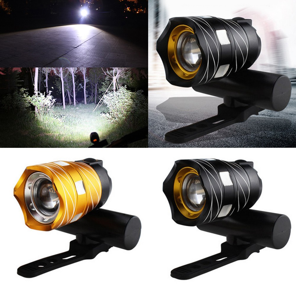 USB Rechargeable XML T6 LED Bicycle Bike Light Front Cycling Headlamp Waterproof